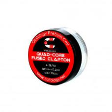 rezistenta Ni80 Quad Core Fused 0.28Ω