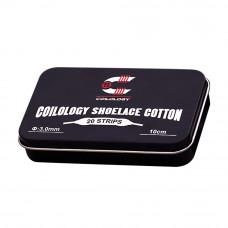 Shoelace cotton